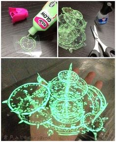 Arcane spell casting cosplay with transparency film and glow in the dark paint (clever diy for kids) Cosplay Tutorial, Cosplay Diy, Halloween Cosplay, Cosplay Horns, Cosplay Weapons, Cheap Cosplay, Cosplay Helmet, Doctor Strange Halloween Costume, Witch Cosplay