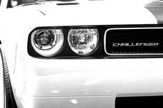 Pure White - Dodge Challenger, I saw this on the street the other day and fell n love