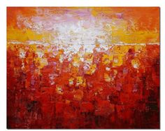 Gran cuadro pintura abstracta arte abstracto pintura por Svetlansa