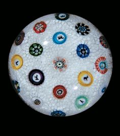 Stardust Carpet Ground Paperweight, 1848. Compagnie des Verreries et Cristalleries de Baccarat. Collection of the Corning Museum of Glass (55.3.121).