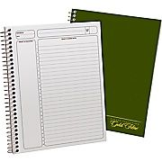 Buy Ampad® Gold Fibre Executive Series Project Planning Notebook, Project Ruled, Green, 9-1/2'' x 7-1/4'' (20816) at Staples' low price, or read customer reviews to learn more.