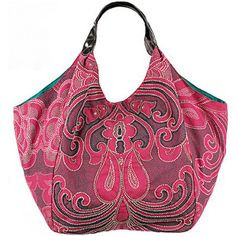 Monsoon Accessorize - Oversized Dotty Paisley Bag - Polyvore