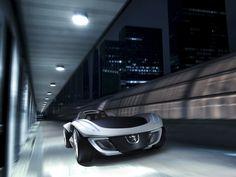 Fond écran Peugeot Flux