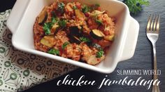 As soon as I found this Slimming World Chicken Jambalaya recipe I knew my hubby would love it.