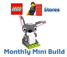 FREE LEGO Bunny Model Build at Lego Stores on 3/1-3/2 on http://hunt4freebies.com