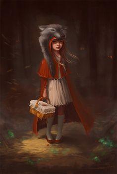Red Riding Hood by SneznyBars.deviantart.com on #deviantART