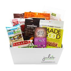 Snacks baskets 7799 by jules baskets treats snacks organic snacks baskets gluten free 9799 by jules baskets negle Image collections