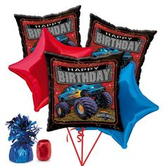 Check out Monster Truck Party Balloon Kit - Discount Party Accessories and…