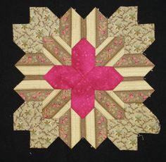 Lucy Boston block 28 by Muriel for the POTC Blog Along at Little Quilts