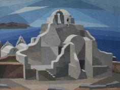 .:. Σοφιανός Μάνος – Manos Sofianos [1922-1986]  Santorini Greece
