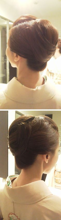 Japanese Kimono hairstyle: 着物 ヘアスタイル