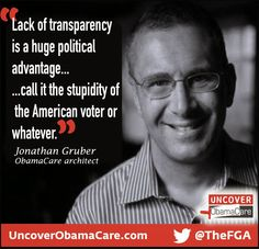 Ye Olde Journalist: Trent: Obamacare Architect Says Law Passed Because You're All Stupid