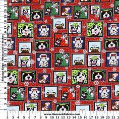 Christmas dogs/puppies- Hancock Fabrics 2014