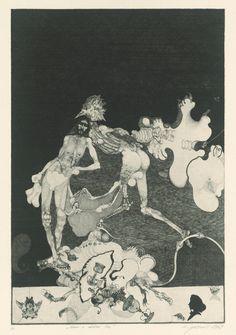 Vladimir Gazovic - Adam and Eve, 1969