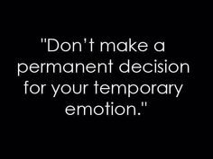 Don't....