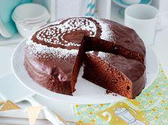 Schoko-Mango-Kuchen Rezept | LECKER