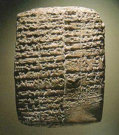 Cuniform - Sumerian tablet - Early Dynastic period 2500 - 700 BC