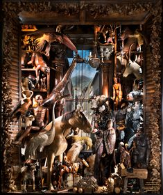 They're Alive: Carnival of the Animals. Window at Bergdorf´s NYC