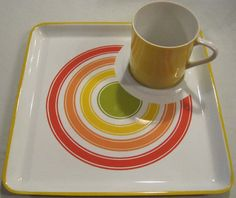 Hey, I found this really awesome Etsy listing at https://www.etsy.com/listing/206873422/set-of-4-rare-vintage-dishes-cupholder