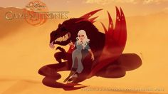 Les illustrations Game Of Thrones version Disney de Fernando Mendonça nandomendonssa.deviantart.com