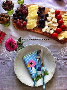table setting, breakfast
