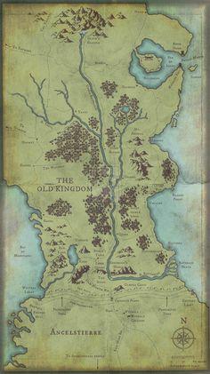 Old Kingdom Map by WaltLindsay