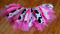 Sparkly Pink Cowgirl costume cowgirl skirt - Rhinesone cowgirl birthday Tutu, Double layer, shabby chic fabric tutu skirt - Choose your size on Etsy, $27.49