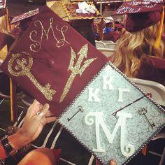 Kappa Kappa Gamma Grad Caps