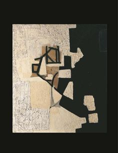 View Bianco nero By Alberto Burri; oil on canvas; Access more artwork lots and estimated & realized auction prices on MutualArt. Alberto Burri, Guernica, Collage Artists, Magazine Art, Art Market, Diy Bedroom Decor, Printmaking, Paper Art, Oil On Canvas