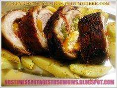 ΧΟΙΡΙΝΟ ΡΟΛΟ ΓΕΜΙΣΤΟ ΠΙΚΑΝΤΙΚΟ!!!...by nostimessyntagesthsgwgws.blogspot.com