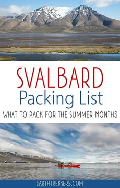 Svalbard Packing Lis
