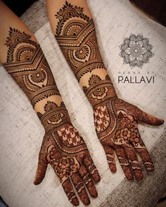Simple Mehendi designs to kick start the ceremonial fun. If complex & elaborate henna patterns are a bit too much for you, then check out these simple Mehendi designs. Engagement Mehndi Designs, Latest Bridal Mehndi Designs, Full Hand Mehndi Designs, Legs Mehndi Design, Mehndi Designs For Girls, Indian Mehndi Designs, Mehndi Designs 2018, Stylish Mehndi Designs, Wedding Mehndi Designs