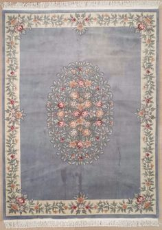 New Contemporary European Area Rug 2802 - European Fashion, European Style, Contemporary Area Rugs, Rectangular Rugs, Colorful Backgrounds, Wool Rug, Antiques, Handmade, China