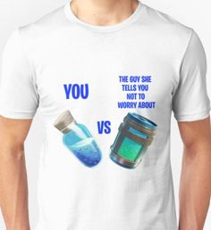 Fortnite Mini and Chug Unisex T-Shirt Told You So, Design Inspiration, Unisex, Mini, Shirt, Gifts, Presents, Dress Shirt, Shirts