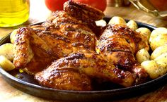 Paprika and Honey Marinated #Braai Chicken. So easy to make using a #KnorrStockPot!  #BraaiRecipes
