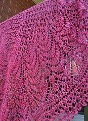 Ravelry: Lakeshore Shawl pattern by Glenna C.