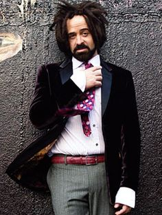 Adam Duritz , lead singer of Counting Crows