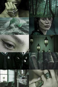 slytherin aesthetic (more here)