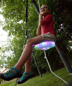 Light-up tree swing