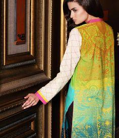 Firdous Embroidered Cambric/Cotton Kurti Collection FF_1A