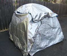 Adding thermal insulation to your tent by mayhemchaos