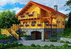 Dom całoroczny - Nowela w lesie II