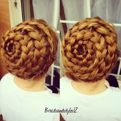 The Spiral (or beehive) braid always catches the eyes because it is impressive and seems complicated and difficult! See our selected ...