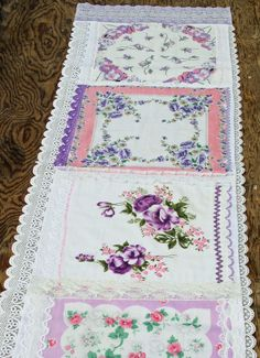 Isa Creative Musings: Vintage Hankie Table Runners, Part VII