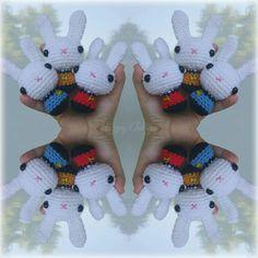 Star Trek crochet bunnys  #startrek #startrekdiy
