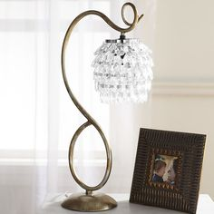 Swirls & Drops Table Lamp | Pier 1 Imports