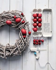 Decorating for Sunday morning? Start at the front door by displaying one of our handmade wreaths, which are made using seasonal details like dyed eggs, fresh flowers, and gilded butterflies. Easter Flowers, Easter Colors, Wreath Crafts, Diy Wreath, Wreath Ideas, Easter Wreaths, Christmas Wreaths, Spring Wreaths, Wood Wreath