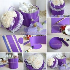 How To Make Corrugated Paper Gift Box step by step DIY...