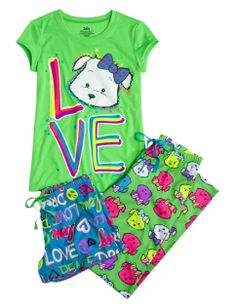 Lulu 3 Piece Pajama Set