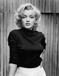 Marilyn Monroe. Im more than likely one of the few to say she's an inspiring woman and an icon of mine.